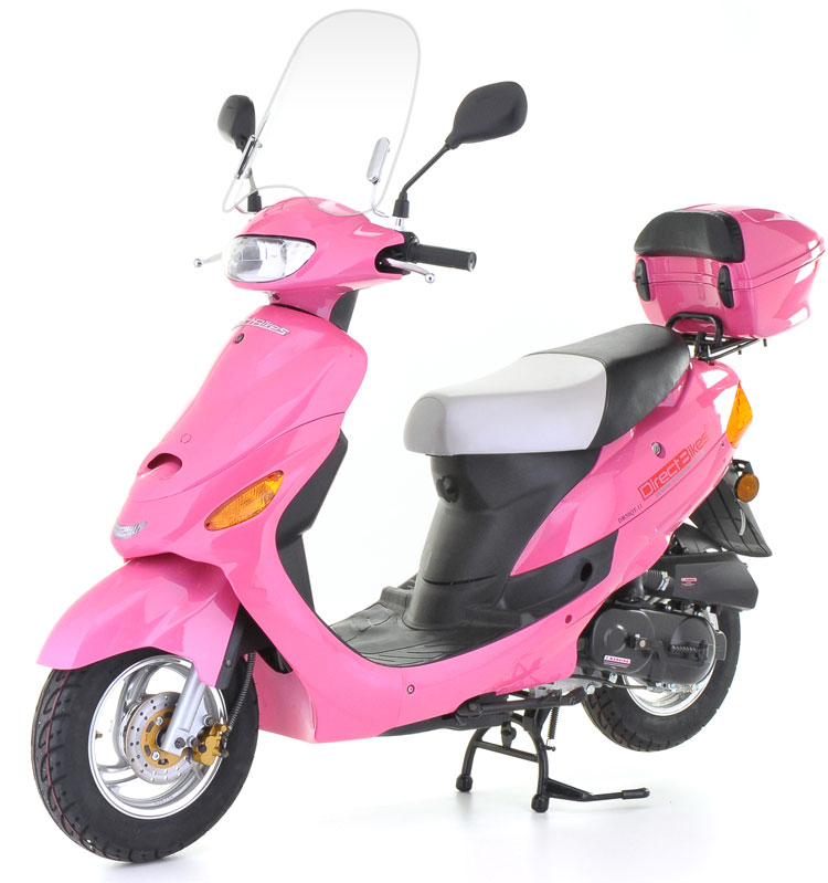 50cc scooter direct bikes 50cc sports scooters pink. Black Bedroom Furniture Sets. Home Design Ideas