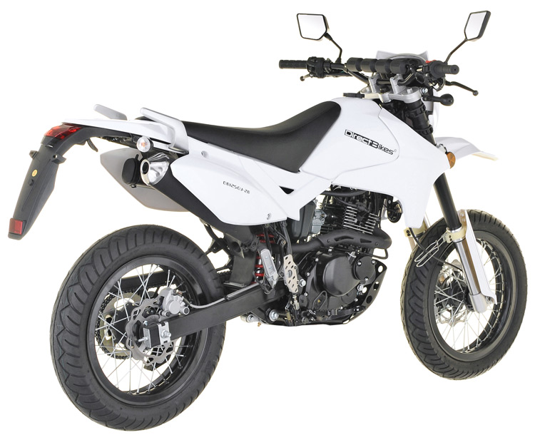 125cc motorcycle 125cc direct bikes enduro s motorcycle white. Black Bedroom Furniture Sets. Home Design Ideas